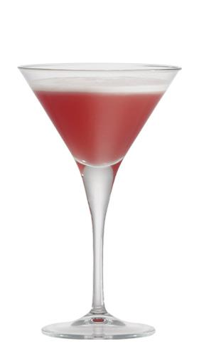 Wild Strawberry Vodka Sour